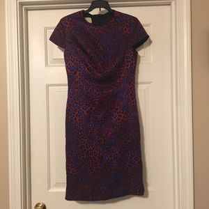 Paul Smith Leopard print dress size 42 (4-6)
